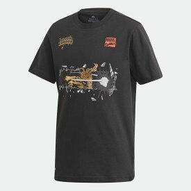 【公式】アディダス adidas マーベル / ブラックパンサー グラフィック半袖Tシャツ / Marvel Black Panther Graphic Tee キッズ ボーイズ ウェア トップス Tシャツ FM3728
