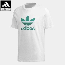 【公式】アディダス adidas オリジナルス Tシャツ [TREFOIL TEE] オリジナルス メンズ ウェア トップス Tシャツ 白 ホワイト FM3789 半袖 p0409