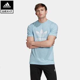 【公式】アディダス adidas オリジナルス Tシャツ [TREFOIL TEE] オリジナルス メンズ ウェア トップス Tシャツ 青 ブルー FM3794 半袖 p0409