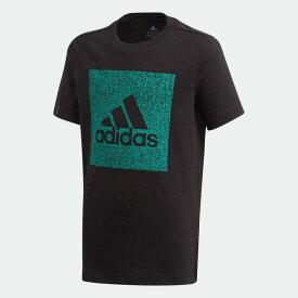 【公式】アディダス adidas マストハブ バッジ オブ スポーツ 半袖Tシャツ / Must Haves Badge of Sport Tee キッズ ボーイズ ウェア トップス Tシャツ FM4493