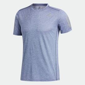 【公式】アディダス adidas ランニング オウン ザ ラン クーラー 半袖Tシャツ / Own the Run Cooler Tee メンズ ウェア トップス Tシャツ 青 ブルー FM5806 ランニングウェア 半袖