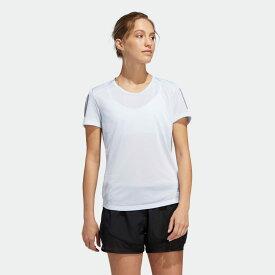 【公式】アディダス adidas ランニング オウン ザ ラン 半袖Tシャツ / Own the Run Tee レディース ウェア トップス Tシャツ 青 ブルー FM5811 ランニングウェア 半袖 p0122