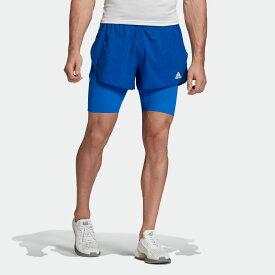 【公式】アディダス adidas ランニング HEAT. RDY ショーツ / HEAT. RDY Shorts メンズ ウェア ボトムス ショートパンツ 青 ブルー FN3342 ランニングウェア