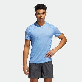 【公式】アディダス adidas ランニング オウン ザ ラン クーラー 半袖Tシャツ / Own the Run Cooler Tee メンズ ウェア トップス Tシャツ 青 ブルー FQ3711 ランニングウェア 半袖