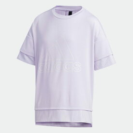 全品送料無料! 03/04 20:00〜03/11 09:59 【公式】アディダス adidas ジム・トレーニング UR 半袖Tシャツ / UR Tee キッズ ウェア トップス Tシャツ 紫 パープル FS6824 半袖 p0304