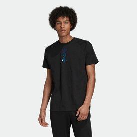 【公式】アディダス adidas ビッグ トレフォイル 半袖Tシャツ オリジナルス メンズ ウェア トップス Tシャツ 黒 ブラック FS7329 半袖