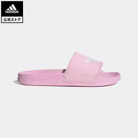 【公式】アディダス adidas 返品可 アディレッタ ライト サンダル / Adilette Lite Slides オリジナルス レディース メンズ シューズ サンダル ピンク FU9139