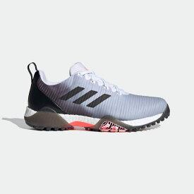 【公式】アディダス adidas ゴルフ コードカオス【ゴルフ】 メンズ シューズ スポーツシューズ 黒 ブラック FW4991 スパイクレス