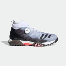 【公式】アディダス adidas ゴルフ コードカオス ボア【ゴルフ】/ CodeChaos Boa Golf Shoes メンズ シューズ スポーツシューズ 黒 ブラック FW4992 スパイクレス p1005