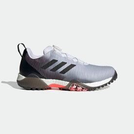 【公式】アディダス adidas ゴルフ コードカオス ボア ロウ【ゴルフ】/ CodeChaos BOA LO Golf Shoes メンズ シューズ スポーツシューズ 黒 ブラック FY0675 スパイクレス