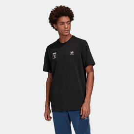 【公式】アディダス adidas Tシャツ オリジナルス レディース メンズ ウェア トップス Tシャツ 黒 ブラック GK5906 半袖