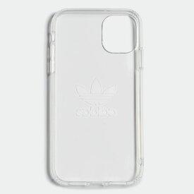 【公式】アディダス adidas IPHONE 11 (6.1 INCH 2019) オリジナルス レディース メンズ アクセサリー iPhoneケース シルバー EV7908