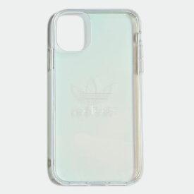 【公式】アディダス adidas iPhone 2019 6.1インチ用 プロテクティブ クリアケース オリジナルス レディース メンズ アクセサリー iPhoneケース ピンク EW0795