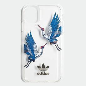 【公式】アディダス adidas iPhone 2019 5.8インチ用 チャイニーズニューイヤー クリアケース オリジナルス レディース メンズ アクセサリー iPhoneケース ゴールド EW1767