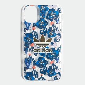 【公式】アディダス adidas iPhone 2019 5.8インチ用 チャイニーズニューイヤー 総柄ケース オリジナルス レディース メンズ アクセサリー iPhoneケース ゴールド EW1768