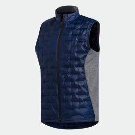 全品送料無料! 03/04 20:00〜03/11 09:59 【公式】アディダス adidas ゴルフ FROSTGUARD 中わた フルジップベスト【ゴルフ】 / Frostguard Insulated Vest メンズ ウェア アウター ベスト 青 ブルー DZ8549 中わた p0304