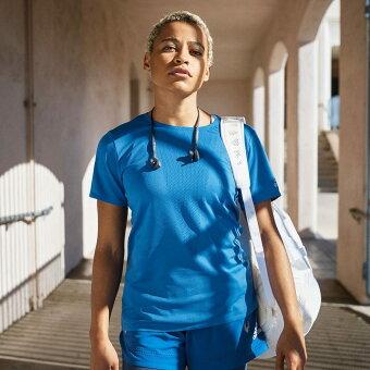 【公式】アディダス adidas ジム・トレーニング HEAT. RDY 半袖Tシャツ レディース ウェア トップス Tシャツ 青 ブルー FN6000 半袖