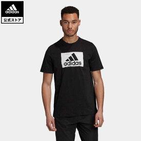 【公式】アディダス adidas ブラシストローク 半袖Tシャツ / Brushstroke Tee メンズ ウェア トップス Tシャツ 黒 ブラック GD5893 半袖
