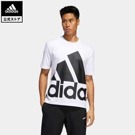 【公式】アディダス adidas 返品可 ビッグロゴ 半袖Tシャツ / Big Logo Tee メンズ ウェア トップス Tシャツ 白 ホワイト GK3328 半袖