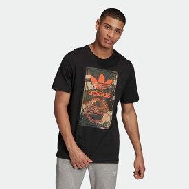 【公式】アディダス adidas カモ シュータン Tシャツ オリジナルス レディース メンズ ウェア トップス Tシャツ 黒 ブラック GD5951 半袖