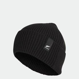 【公式】アディダス adidas ラグビー オールブラックス ビーニー / All Blacks Beanie レディース メンズ アクセサリー 帽子 ウーリー 黒 ブラック FQ3674 ニット帽 p1030