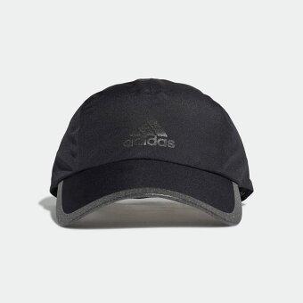 【公式】アディダス adidas ランニング 4CMTE RAIN. RDY キャップ / 4CMTE RAIN.RDY Cap レディース メンズ アクセサリー 帽子 キャップ 黒 ブラック FS9010
