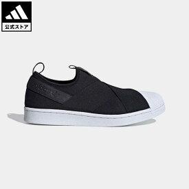 【公式】アディダス adidas 返品可 SS スリッポン / SS Slip-On オリジナルス レディース メンズ シューズ・靴 スニーカー スリッポン 黒 ブラック FW7051 ローカット