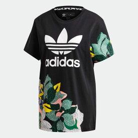 【公式】アディダス adidas HER Studio London ルーズ Tシャツ オリジナルス レディース ウェア トップス Tシャツ 黒 ブラック GC6833 半袖 dance