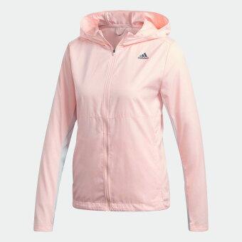 【公式】アディダス adidas ランニング オウン ザ ラン フード付き ウインドジャケット / Own the Run Hooded Wind Jacket レディース ウェア アウター ジャケット オレンジ GC6867 ランニングウェア