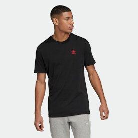 【公式】アディダス adidas トレフォイル エッセンシャルズ 半袖Tシャツ オリジナルス レディース メンズ ウェア トップス Tシャツ 黒 ブラック GD2535 半袖 dance
