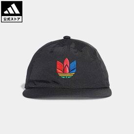 【公式】アディダス adidas 返品可 3D アディカラー ビンテージ ボールキャップ オリジナルス レディース メンズ アクセサリー 帽子 キャップ 黒 ブラック GD4510