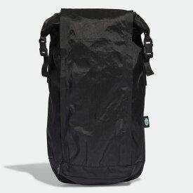 【公式】アディダス adidas フューチャー ロールトップ バックパック オリジナルス レディース メンズ アクセサリー バッグ バックパック/リュックサック 黒 ブラック GD4798 リュック