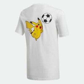 【公式】アディダス adidas ポケモン 半袖Tシャツ / Pokemon Tee キッズ ウェア トップス Tシャツ 白 ホワイト GE0774 半袖 p0122