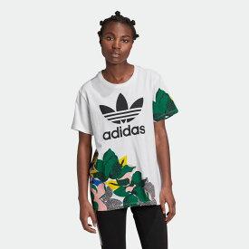 【公式】アディダス adidas HER Studio London ルーズ Tシャツ オリジナルス レディース ウェア トップス Tシャツ 白 ホワイト GE4315 半袖