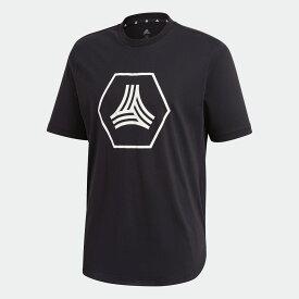 【公式】アディダス adidas サッカー TAN ビッグロゴTシャツ / TAN Big Logo Tee メンズ ウェア トップス Tシャツ 黒 ブラック GE5179 半袖 p1126