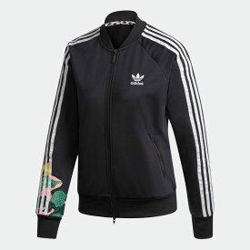 【公式】アディダス adidas トラックジャケット(ジャージ ) オリジナルス レディース ウェア トップス ジャージ 黒 ブラック GC6849