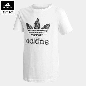 【公式】アディダス adidas 返品可 半袖Tシャツ オリジナルス キッズ ウェア・服 トップス Tシャツ 白 ホワイト GD2811 半袖