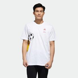 【公式】アディダス adidas ポケモン ピカチュウ 半袖Tシャツ / Pokemon Pikachu Tee メンズ ウェア トップス Tシャツ 白 ホワイト GD5854 半袖