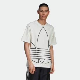 【公式】アディダス adidas ビッグ トレフォイル アウトライン Tシャツ オリジナルス レディース メンズ ウェア トップス Tシャツ 白 ホワイト GE6230 半袖 dance p0225