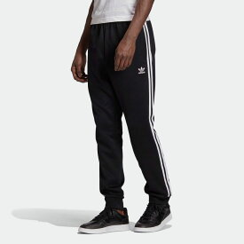 【公式】アディダス adidas アディカラー クラシック Primeblue SST トラックパンツ(ジャージ) オリジナルス レディース メンズ ウェア ボトムス ジャージ パンツ 黒 ブラック GF0210 下