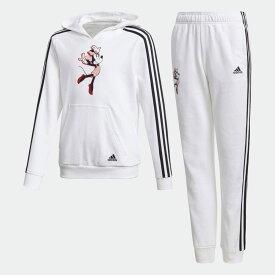 全品送料無料! 03/04 20:00〜03/11 09:59 【公式】アディダス adidas ジム トラックスーツ(ジャージ上下セット) / Gym Track Suit キッズ ウェア セットアップ ジャージ 白 ホワイト GP9668 上下 p0304