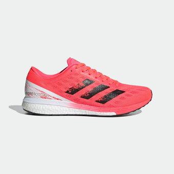 【公式】アディダス adidas ランニング アディゼロ ボストン 9 / Adizero Boston 9 メンズ シューズ スポーツシューズ ピンク EG4671 スパイクレス ランニングシューズ tokyo_collection