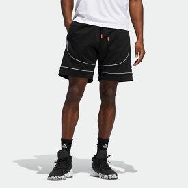 【公式】アディダス adidas バスケットボール ドノバン・ミッチェル D.O.N. Issue #2 ショーツ / D.O.N. Issue #2 Shorts メンズ ウェア ボトムス ハーフパンツ 黒 ブラック FR5741