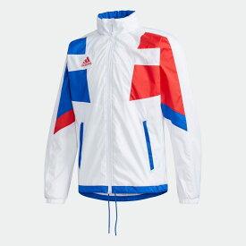 【公式】アディダス adidas テニス チームウェア ウーブン テニスジャケット / TEAMWEAR WOVEN TENNIS JACKET メンズ ウェア アウター ジャケット 白 ホワイト FS3803 p0122