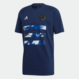【公式】アディダス adidas サッカー TANGO グラフィック 半袖Tシャツ / TANGO Graphic Tee メンズ ウェア トップス Tシャツ 青 ブルー FS5066 半袖 p1126