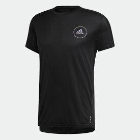 【公式】アディダス adidas ランニング オウン ザ ラン クラブ 半袖Tシャツ / Own the Run Club Tee メンズ ウェア トップス Tシャツ 黒 ブラック FS9813 半袖 ランニングウェア