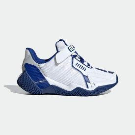 【公式】アディダス adidas ランニング スターウォーズ 4UTURE RNR / Star Wars 4uture RNR キッズ シューズ スポーツシューズ 白 ホワイト FV5788 ランニングシューズ スパイクレス