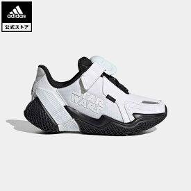 【公式】アディダス adidas 返品可 ランニング スターウォーズ 4UTURE RNR / Star Wars 4uture RNR キッズ シューズ スポーツシューズ 白 ホワイト FV5789 eoss21ss ランニングシューズ