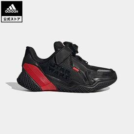 【公式】アディダス adidas 返品可 ランニング スターウォーズ 4UTURE RNR / Star Wars 4uture RNR キッズ シューズ スポーツシューズ 黒 ブラック FV5792 eoss21ss ランニングシューズ
