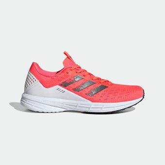 【公式】アディダス adidas ランニング SL20 レディース シューズ スポーツシューズ ピンク FV7342 スパイクレス tokyo_collection ランニングシューズ